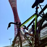 神戸ポートタワーへサイクリング
