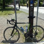ロードバイクで自宅~嵐山往復チャレンジに成功しました